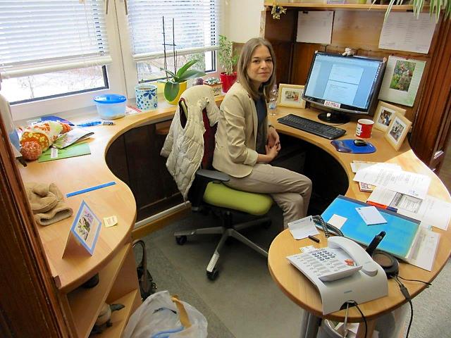 Schreibtisch halbrund - Buromobel experte ...